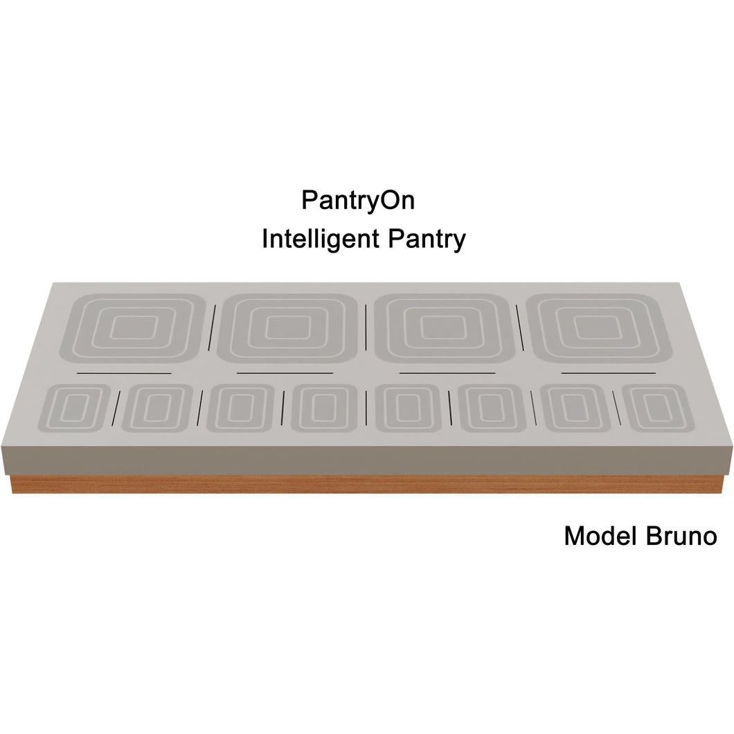 Intelligent Pantry Appliance. Bruno. 12 Items managed