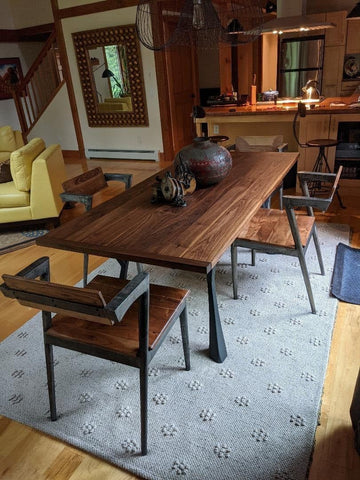 Yami metal table legs and bench legs