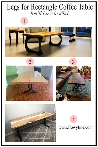 Legs for Rectangle Coffee Table
