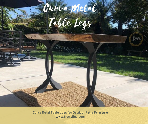 Metal Table Legs for Outdoor Furniture