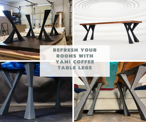 Refresh Your Rooms with Yami Coffee Table Legs