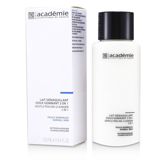Academie 100% Hydraderm Gentle Peeling Cleanser 2 in 1 250ml/8.4oz