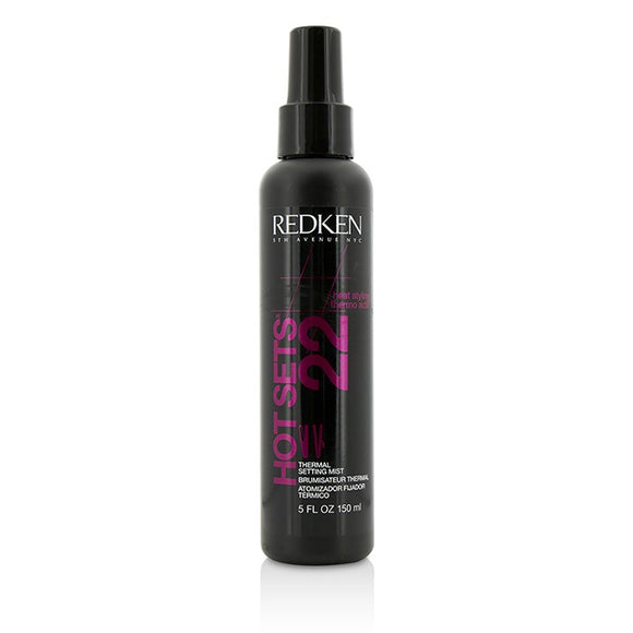 Redken Heat Styling Hot Sets 22 Thermal Setting Mist 150ml/5oz