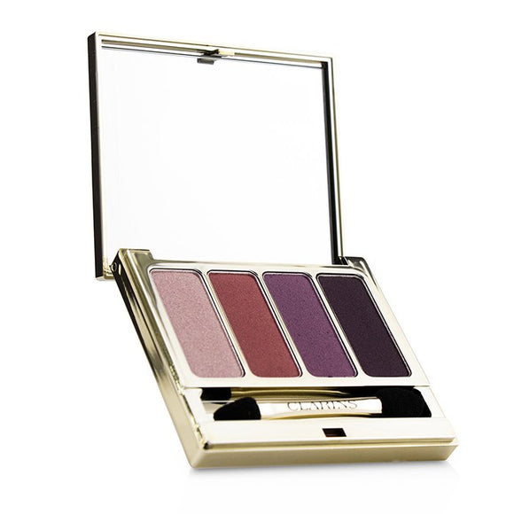 Clarins 4 Colour Eyeshadow Palette (Smoothing & Long Lasting) - No.07 Lovely Rose 6.9g/0.2oz