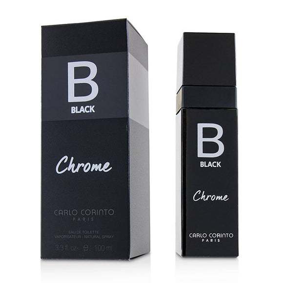Carlo Corinto Black Chrome Eau De Toilette Spray 100ml/3.4oz