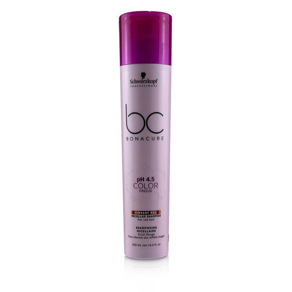 Schwarzkopf BC Bonacure pH 4.5 Color Freeze Vibrant Red Micellar Shampoo (For Red Hair) 250ml/8.5oz