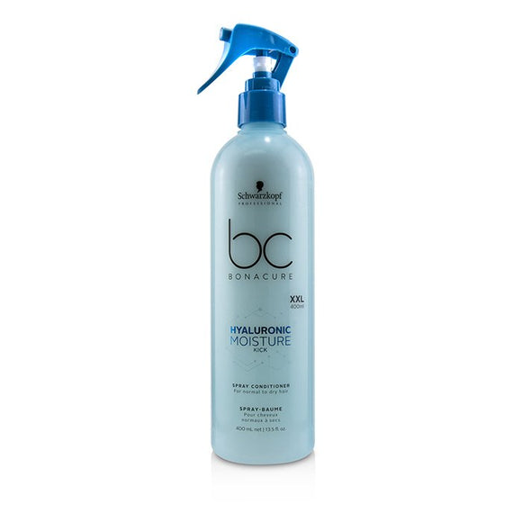 Schwarzkopf BC Bonacure Hyaluronic Moisture Kick Spray Conditioner (For Normal to Dry Hair) 400ml/13.5oz