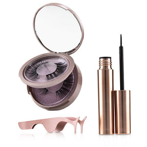 SHIBELLA Cosmetics Magnetic Eyeliner & Eyelash Kit - No. Attraction 3pcs