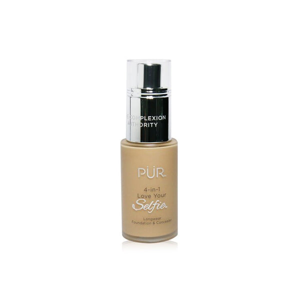 PUR (PurMinerals) 4 in 1 Love Your Selfie Longwear Foundation & Concealer - No.MN5 Almond (Medium Skin With Neutral Undertones) 30ml/1oz