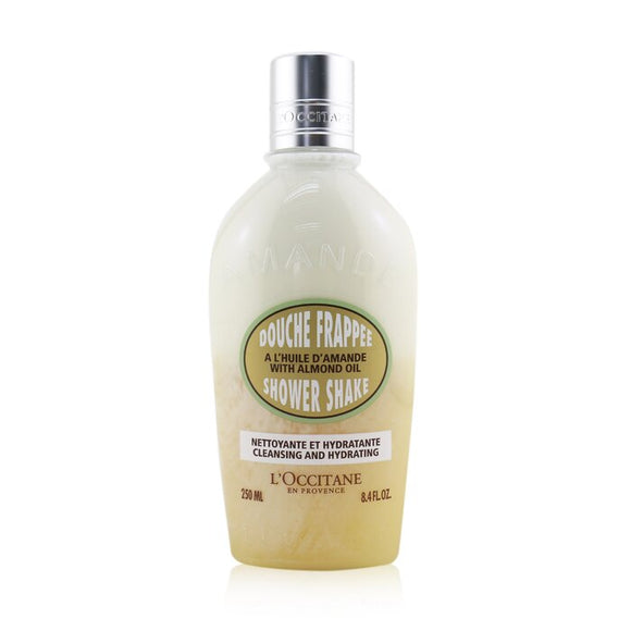 L'Occitane Almond Cleansing & Hydrating Shower Shake 250ml/8.4oz
