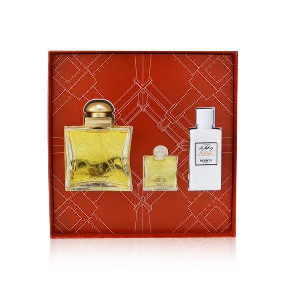 Hermes 24 Faubourg Coffret: Eau De Parfum Spray 50ml/1.6oz + Eau De Parfum 7.5ml/0.25oz + Moisturizing Body Lotion 40ml/1.35oz 3pcs