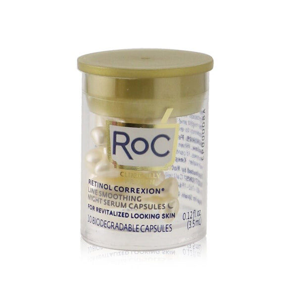 ROC Retinol Correxion Line Smoothing Night Serum Capsules 10x3.5ml/0.12oz