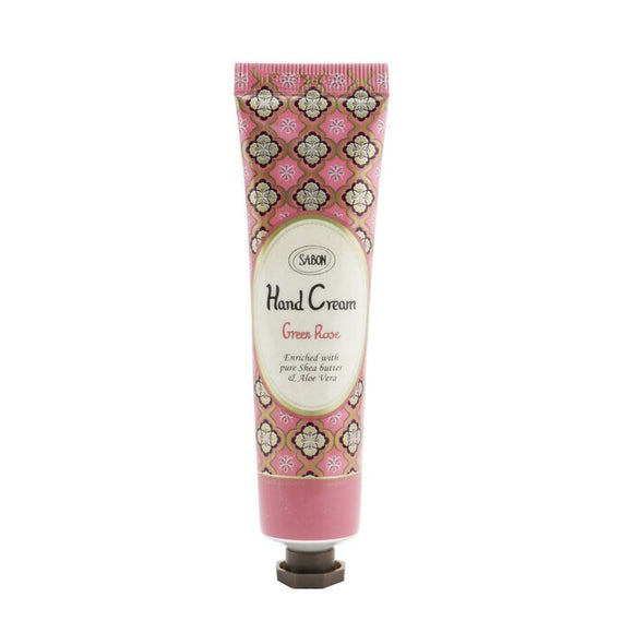 Sabon Hand Cream - Green Rose (Tube) 30ml/1.01oz