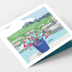 Dartmouth Devonware  Card