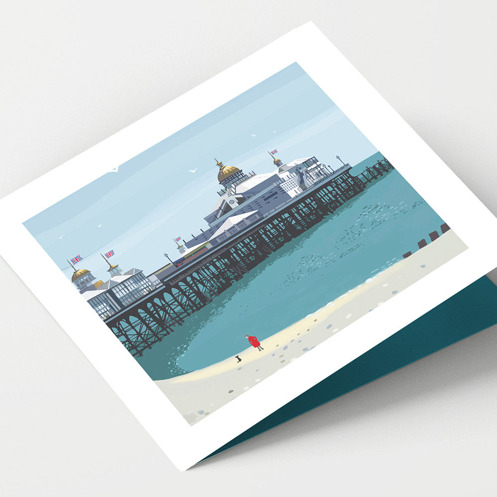 Eastbourne Pier Cornwall Card