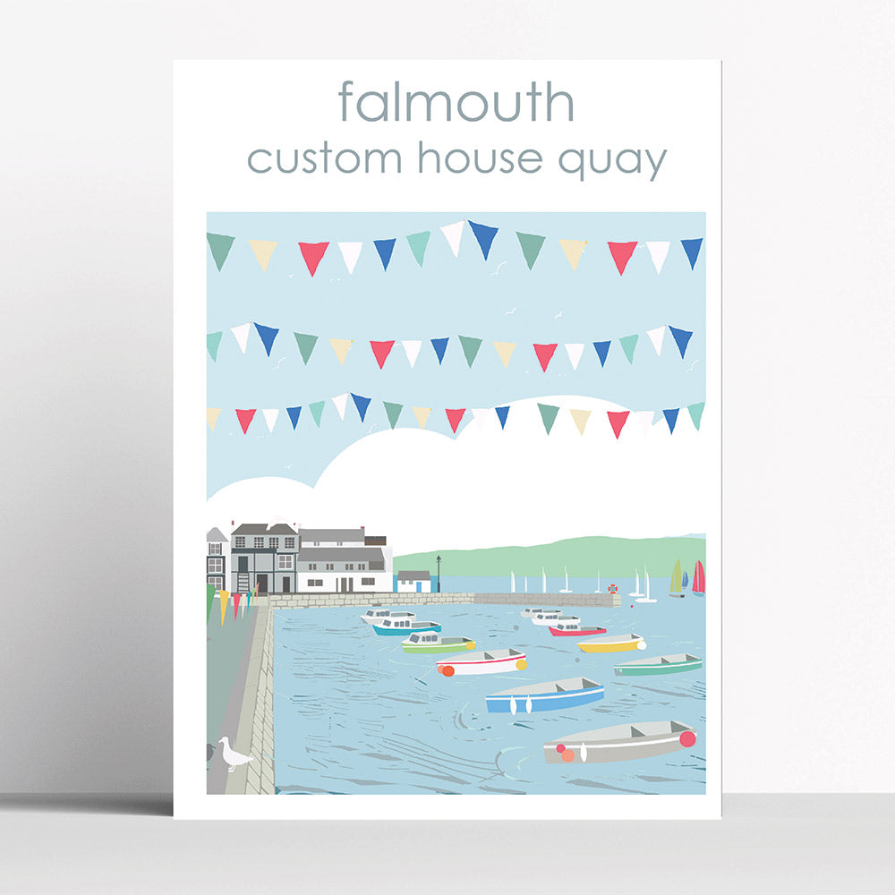Falmouth Custom House Quay Cornwall