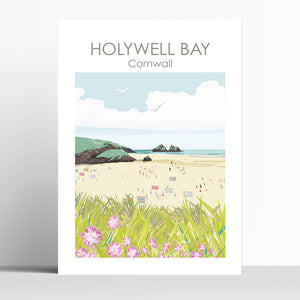 Holywell Bay Beach Cornwall