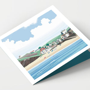 Hope Cove Devon  Card