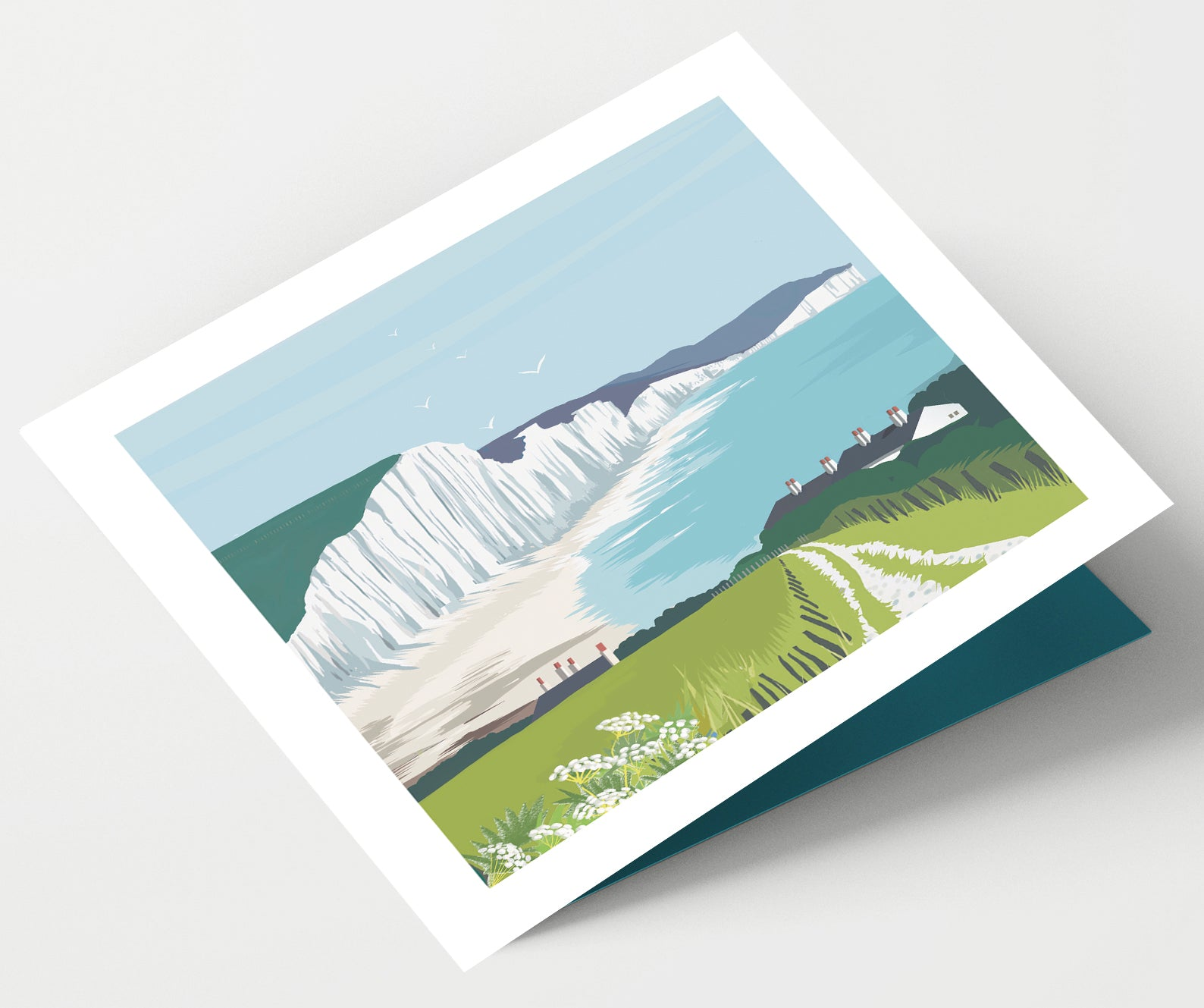 Seven Sisters Sussex Card