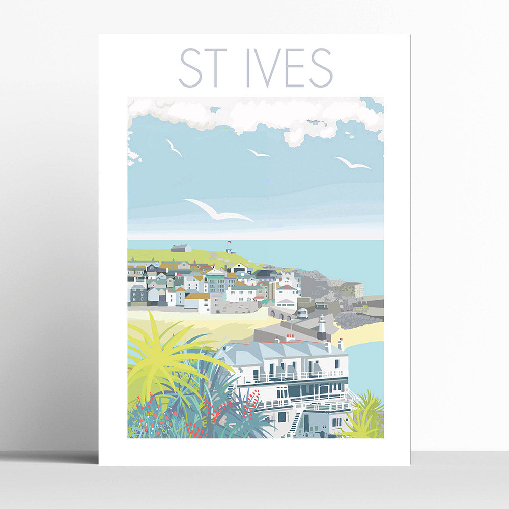 St Ives and Palms Cornwall
