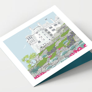 st Michael's Mount Castle Cornwall Card