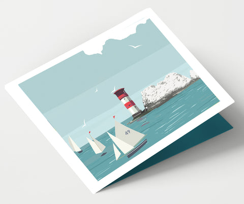 The Needles Lighthouse Card
