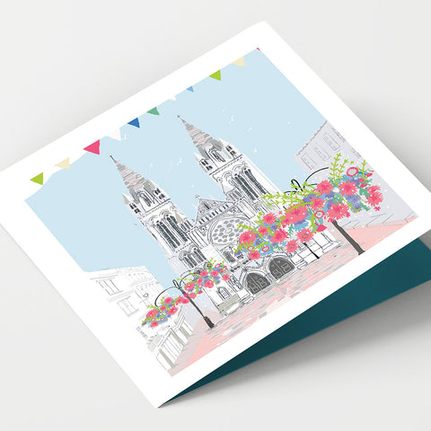 Truro Cathedral Cornwall Card
