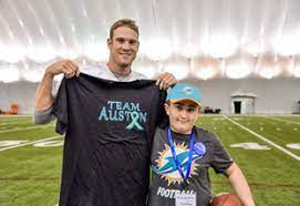 Ryan Tannehill with Auston