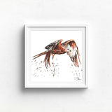 RED KITE  Watercolour