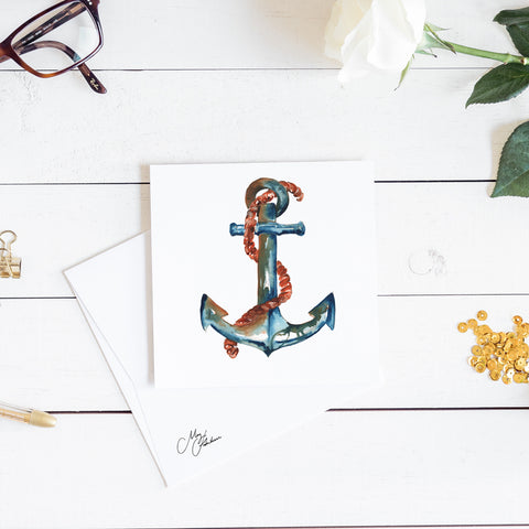 anchor watercolour by meg hawkins