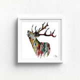 STAG 2 Watercolour