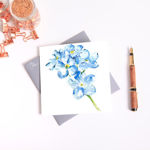 FORGET ME NOT Watercolour