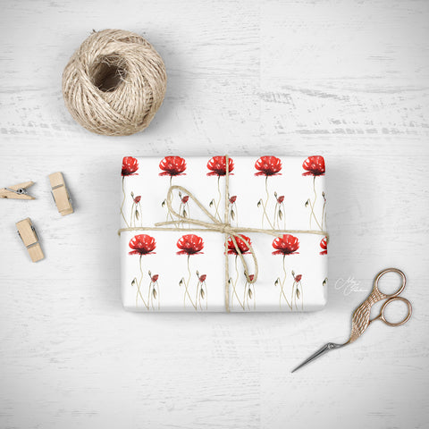 luxury giftware by Meg Hawkins poppy design