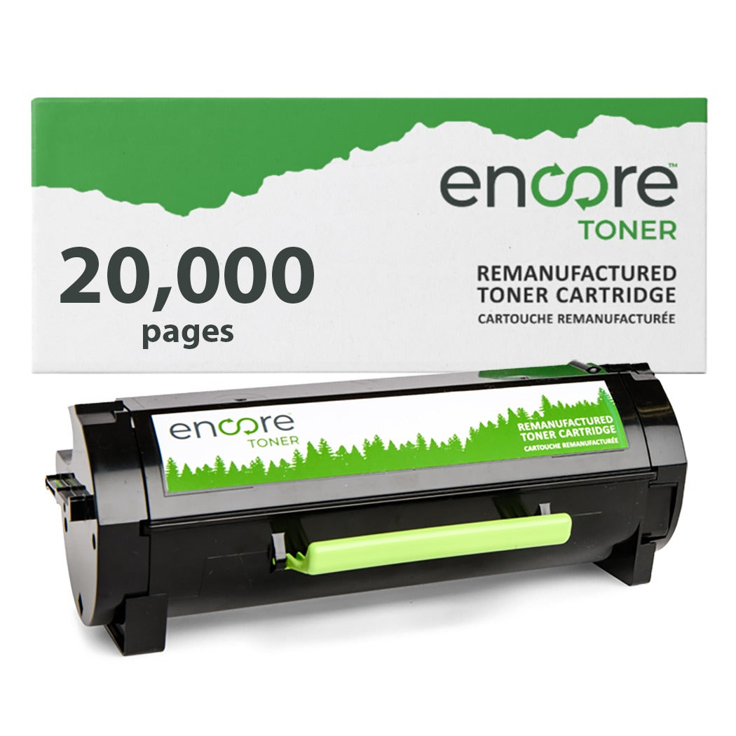 Lexmark 601X Extra High Yield Remanufactured Toner Cartridge