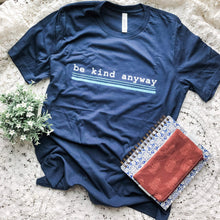 Load image into Gallery viewer, Be Kind Anyway, Mother Teresa Inspired Short-Sleeve Unisex T-Shirt