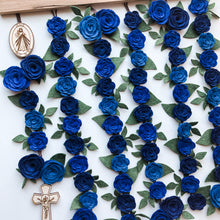 Load image into Gallery viewer, Floral Wall Rosary Hanging - Divine