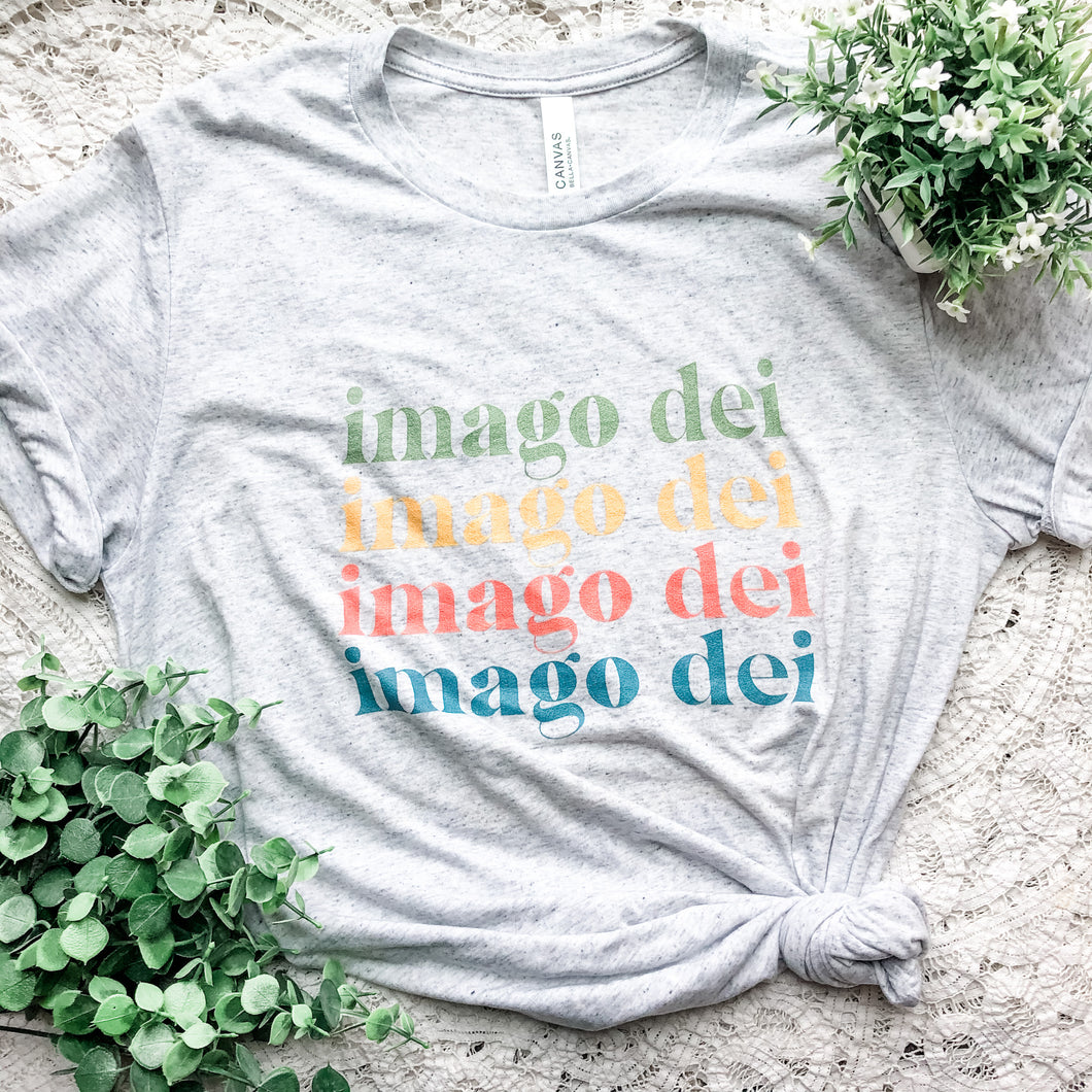 Imago Dei Retro Colors Short sleeve t-shirt