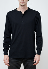 Load image into Gallery viewer, Henley Long Sleeve Tee