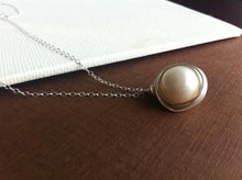 Load image into Gallery viewer, Wrapped Freshwater Pearl Necklace