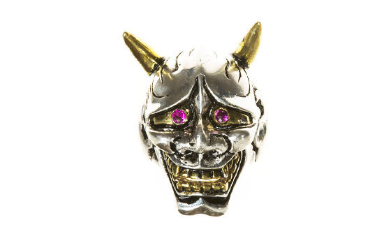 Hannya Mask Ring