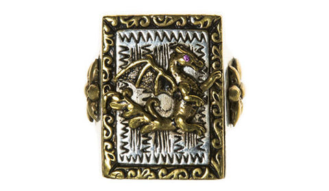 Mexican Dragon Ring