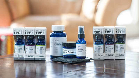 puritycbd tincture product line