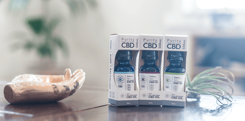 puritycbd products backlay photo
