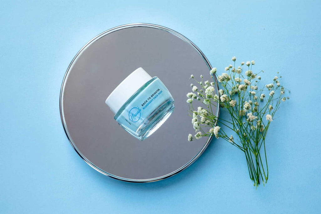 BACK TO BRIGHTEN – BLUEBERRY FACE MASK-NAVAH
