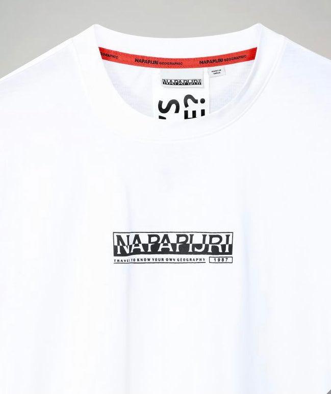 T-shirt NAPAPIJRI 0021 NP0A4EL4 Bright white