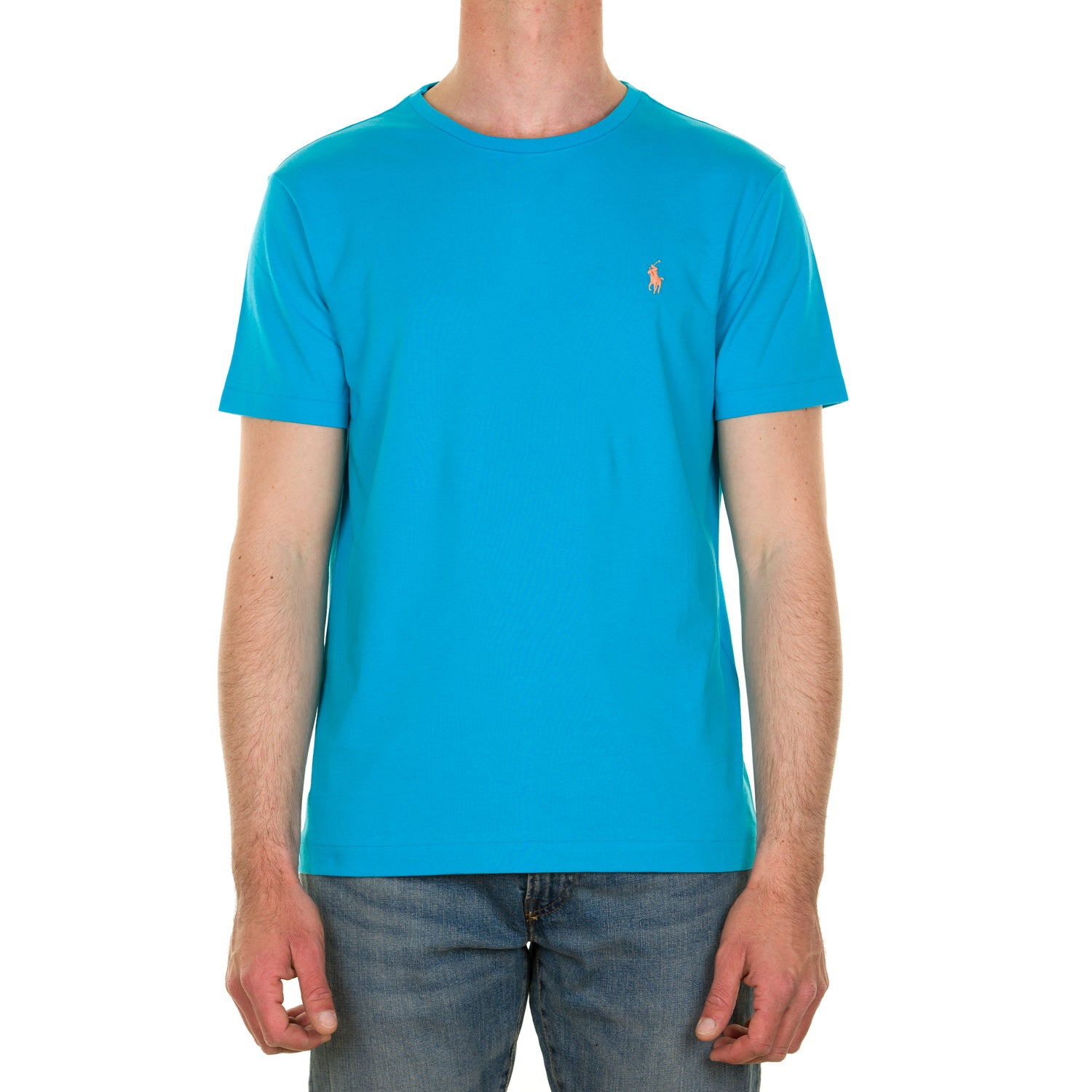 T-shirt POLO RALPH LAUREN 217 710671438 Cove blue