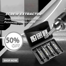 Load image into Gallery viewer, Screw Extractor(4 Pcs/5pcs/6pcs)