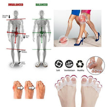 Load image into Gallery viewer, Silicone toe corrector, toe separator