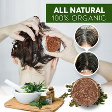 Load image into Gallery viewer, Organic Darkening Shampoo Bar-100 % organic herbs