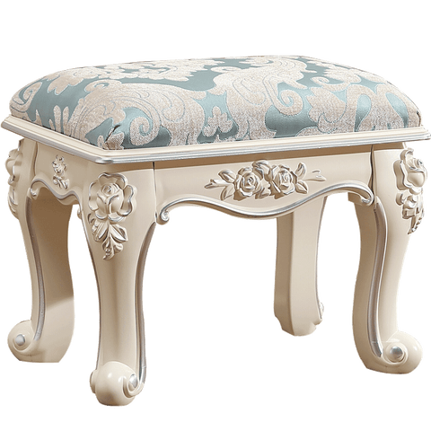 European coffee table stool small apartment living room dining stool American makeup stool for shoes bench